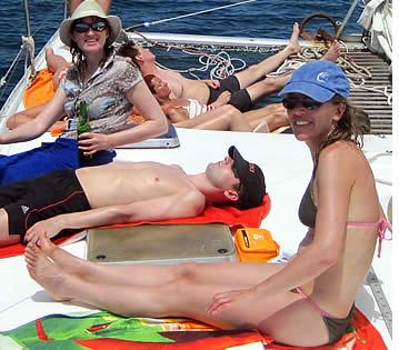 Dagelijks Route van de Catamaran Sailing Tour in Bocas del Toro, Panama
