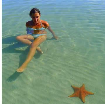 Starfish-Strand auf der Isla Colon, Bocas del Toro, Panama